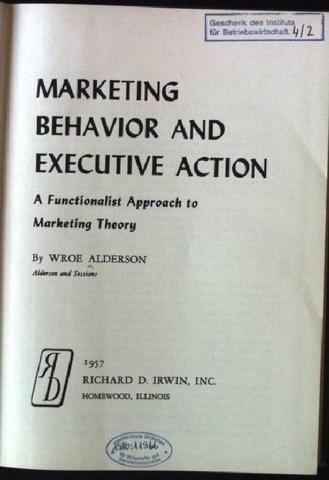1a. Teoría funcional del Marketing
