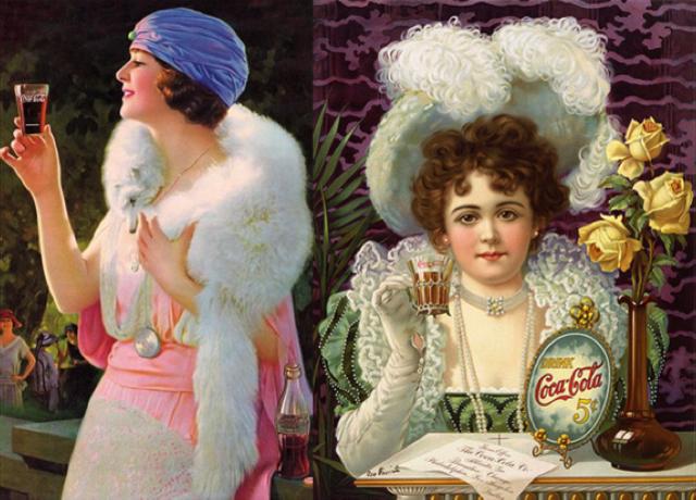 Publicidad: Hilda Clark x Coca-Cola, medios impresos