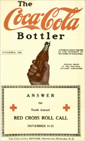 Publicidad: Cruz Roja x Coca-Cola, medios impresos