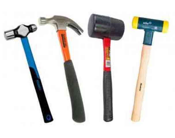 Tipos de martillos