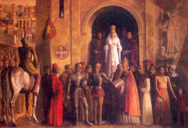 "Inicio de la guerra en Castilla entre Isabel ""la Católica"" y Juan ""la Beltraneja"""