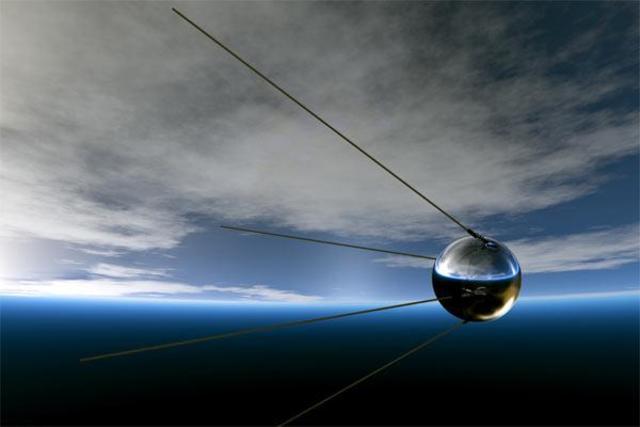 Запуск в СССР первого искусственного спутника