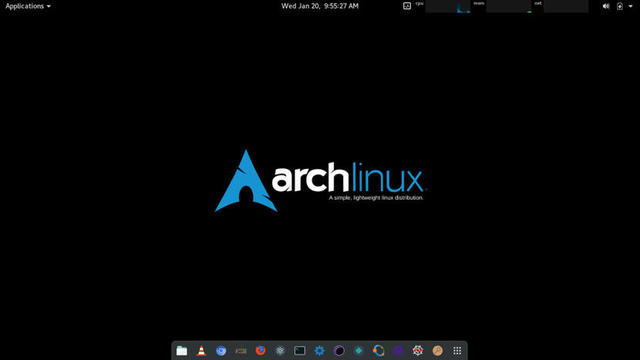Arch Linux.