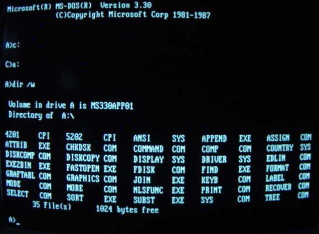 MS-DOS 3.30