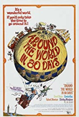 "The Film, ""Around the World in 80 Days"" filmed in Ignacio."