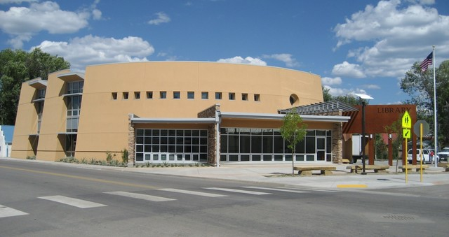 New library building opens.