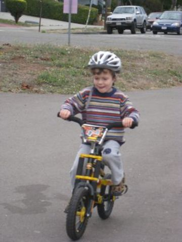 Learned to ride a bike