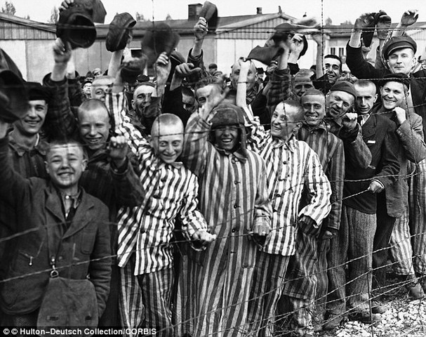 Elie is liberated from the concentration camp