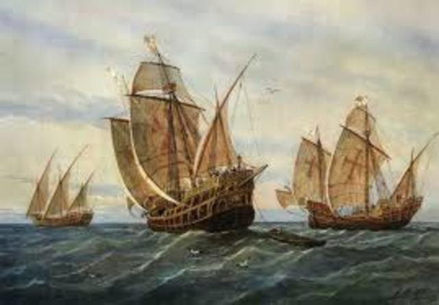 Columbus set sail to The New World