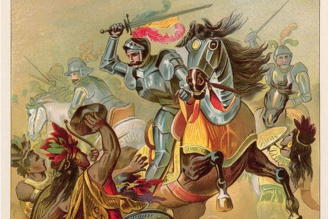 Spanish conquest of Mexico begins