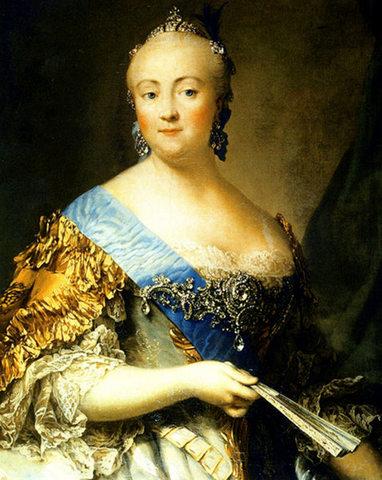 Царствование Елизаветы Петровны