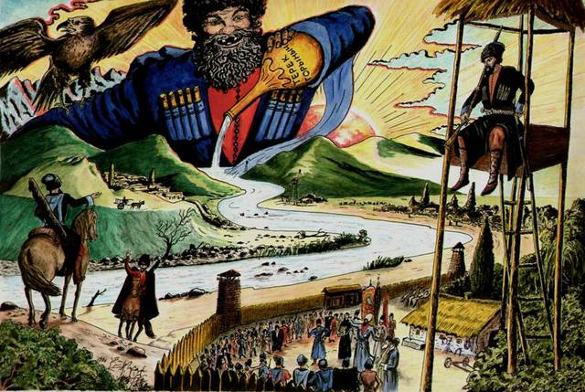 Указ о продаже терским и гребенским казака на реке Терек