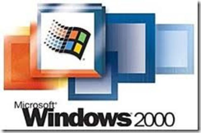 Windows 2000 Profesional / Windows 2000 Server.