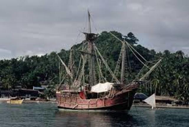 Megalin sails into pacific ocean