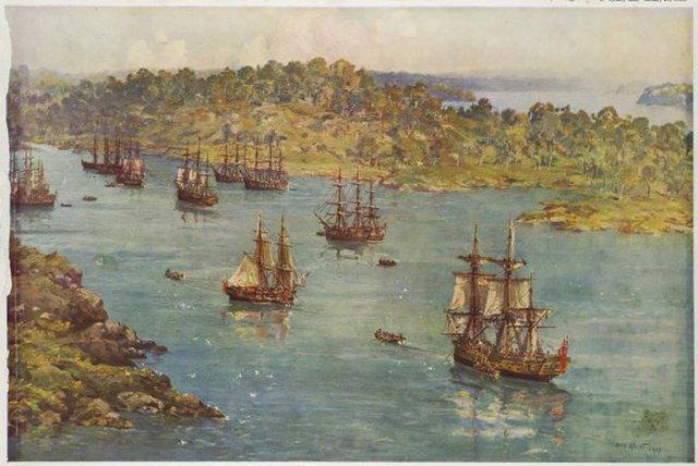 First Dutch fleet arrives in India