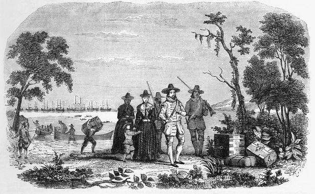 English Founded Massachusetts bay colony