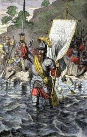 Vasco Nunez de Balboa reached the South Sea