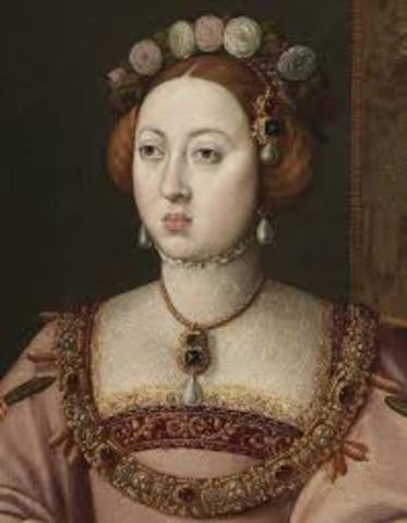 Manuela de Portugal, primera esposa Felipe II