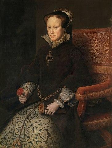 María Tudor, segunda esposa Felipe II