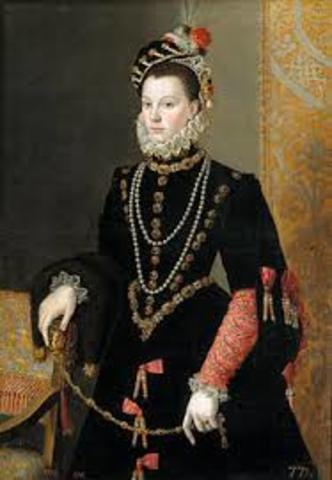 Isabel de Valois, tercera esposa de Felipe II