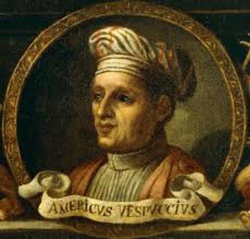 Amerigo Vespucci traveled along the east coast of South America. He said what