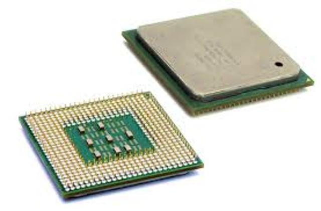 Surgimiento de los microprocesadores