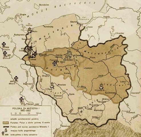 Se produce la re unificación de Polonia bajo el reinado de Vladislao I.