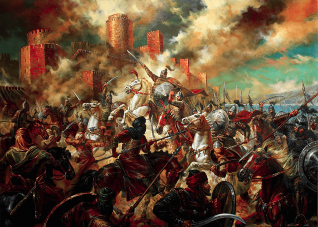 Se producen las guerras búlgaro-otomanas