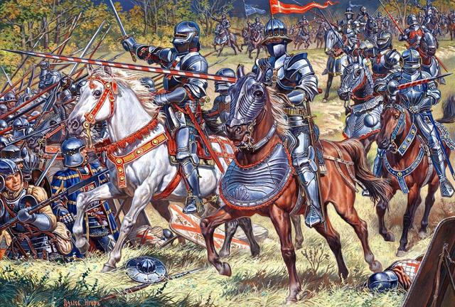 La batalla de Crécy