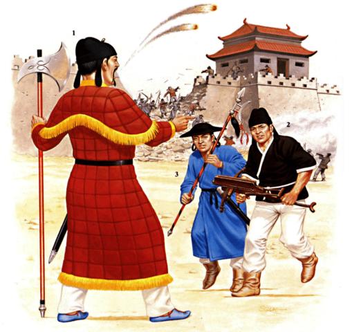 En China termina la dinastía Yuan y comienza la dinastía Ming