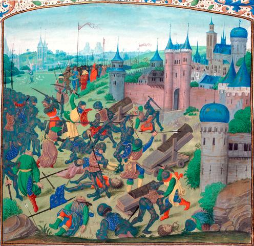 En la batalla de Nicópolis