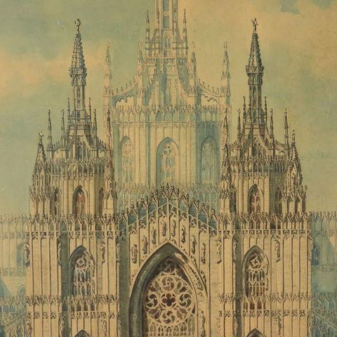 Comienza la construcción de la catedral de Milán