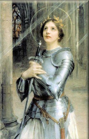 Francia revive con Juana de Arco.