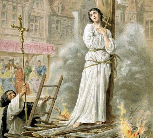 Muerte Juana de Arco