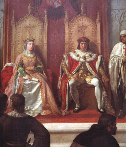 Matrimonio entre Isabel y Fernando
