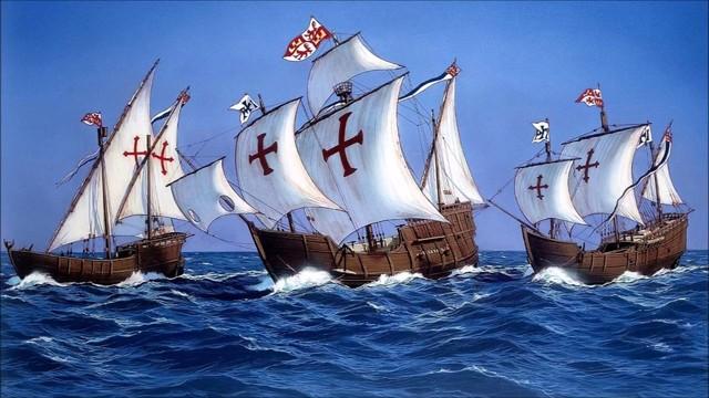 Viaje de Cristobal Colon a América