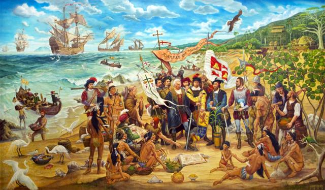 DESCUBRIMIENTO DE PUERTO RICO Y JAMAICA