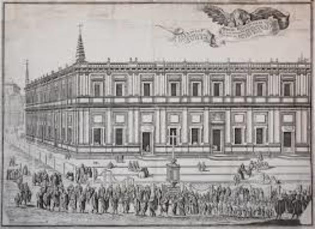 Establecimiento de la Casa de Contratación de Sevilla