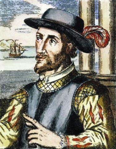 Juan Ponce de León y Figueroa explora Florida