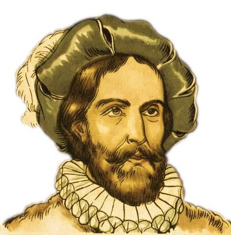 Juan Díaz de Solís se interno en el Río de la Plata y murió en manos de los Charrúas