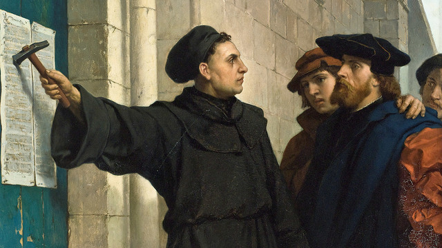 Martín Lutero publica Las 95 tesis