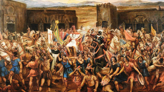 la Conquista de Perú