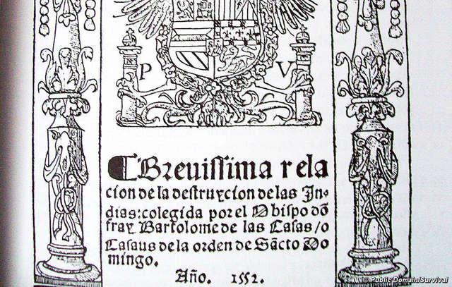 Historia de las Indias, de Fry Bartolomé de las Casas