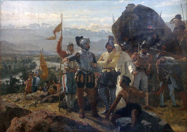 Se inicio la Conquista de Chile