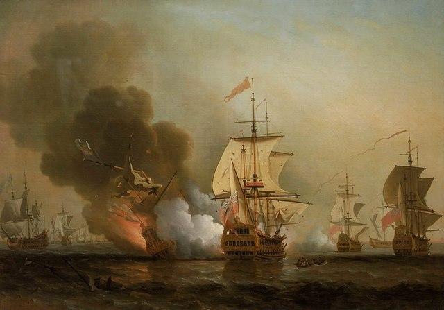 Flota Española en Portobelo
