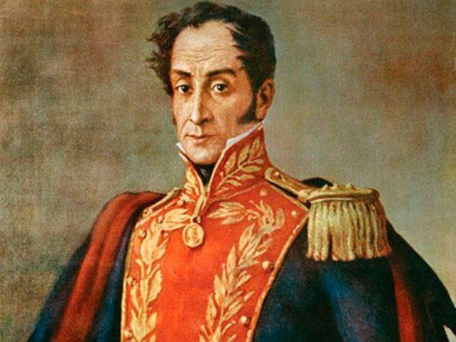 Nace en Caracas Simón Bolívar