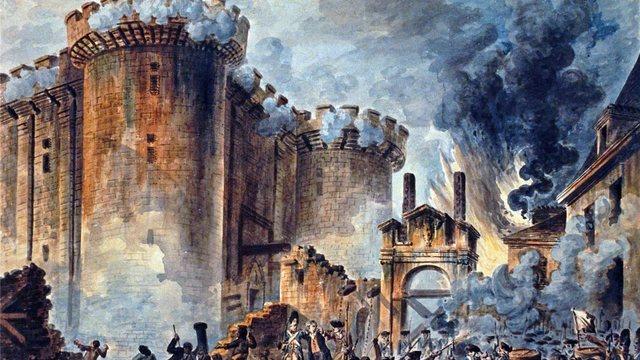 Revolución Francesa, toma de la Bastilla