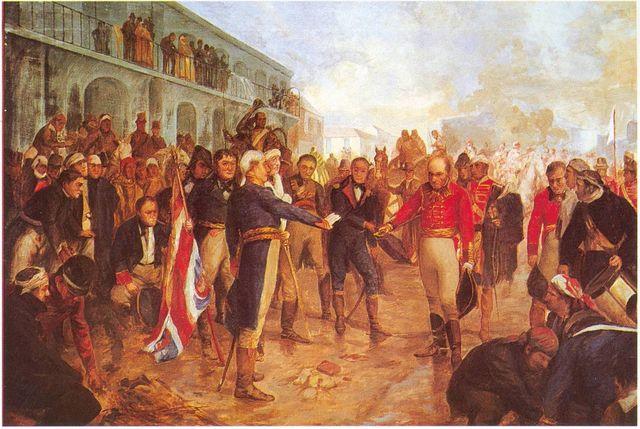 ingreso de Beresford al Fuerte de la Ciudad de Buenos Aires