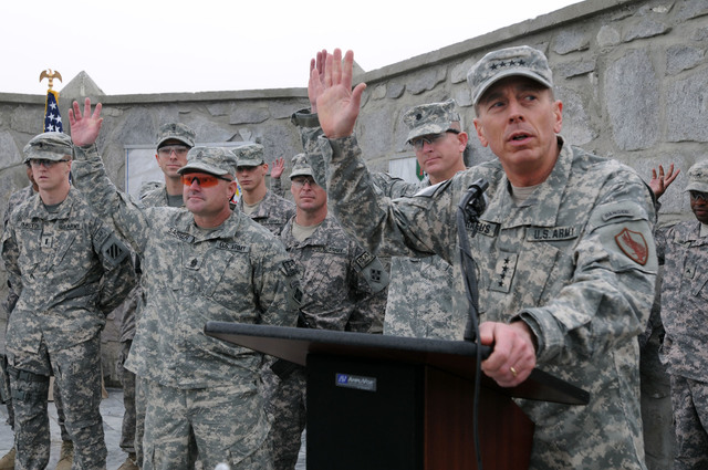 General Petraeus Takes Charge of United States Central Command