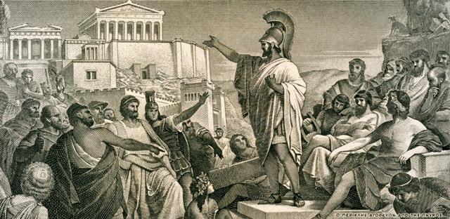 Aten blir en demokrati